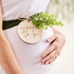 Sash - Mummy to be - Botanical Baby