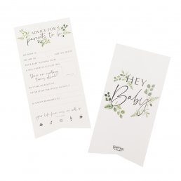 Advice cards - Botanical Baby