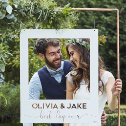 Polaroidskyld - DIY - Botanical Wedding