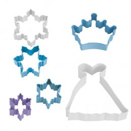 Utstickare - 6-pack - Snow Queen