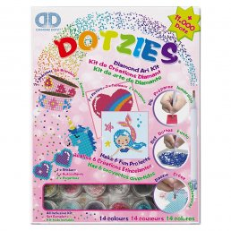 Diamond Dotz - Kit - Armband/Figurer