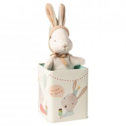 Bunny in box - Happy Day - Small