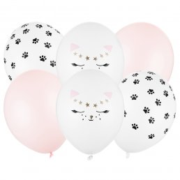 Ballongbukett - Cat Party