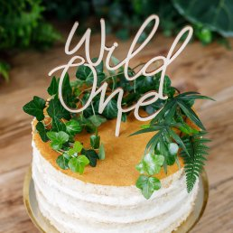 Cake Topper - Trä - Wild One