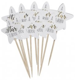 Cake Picks - Stjärnor - A star is born