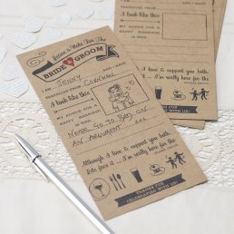 Advice Cards - A Vintage Affair