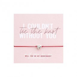 Armband - Will you be my Bridesmaid?