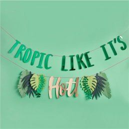Backdrop - Tropic like it's hot