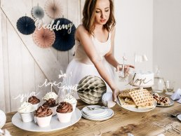 Backdrop - Wedding - Silver