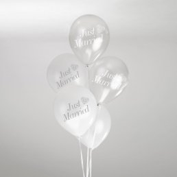 Ballonger - Just Married - Silver