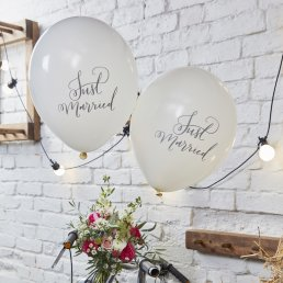 Ballonger - Boho - Just Married