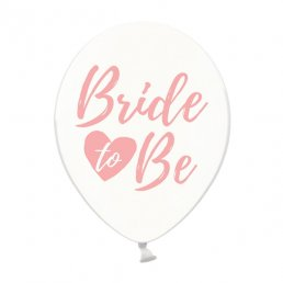 Ballonger - Bride to be - Clear/Rosa