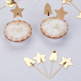 Cake Picks - Dazzling Christmas
