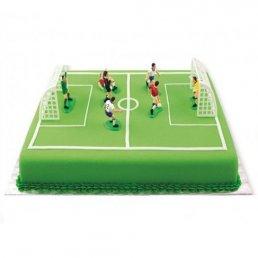 Cake Topper - Football - Mål & Spelare