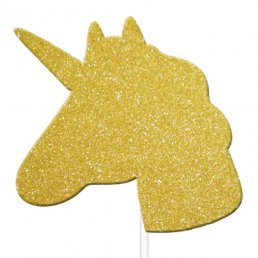 Cake Picks - Unicorn - 12-pack