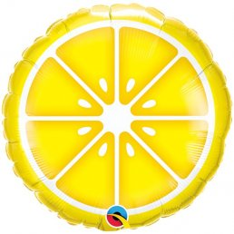Folieballong - Fruit Party - Citron