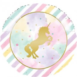 Folieballong - Unicorn Sparkle