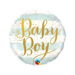 Folieballong - Mini - Baby Boy