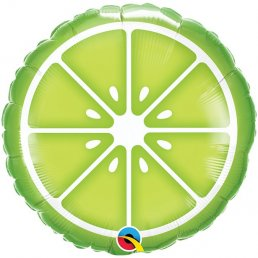 Folieballong - Fruit Party - Lime