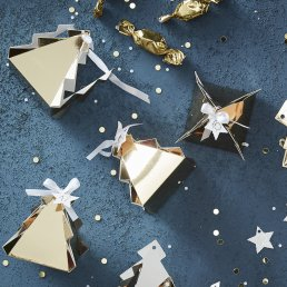 Adventskalender - Granar - Gold Christmas