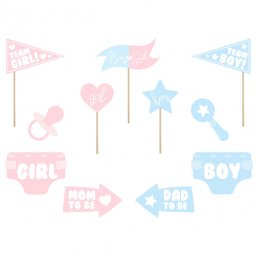 Photo booth - Gender reveal