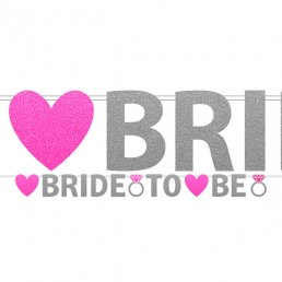Girlang - Bride to be - Glitter
