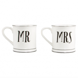 Kaffemuggar - Mr & Mrs