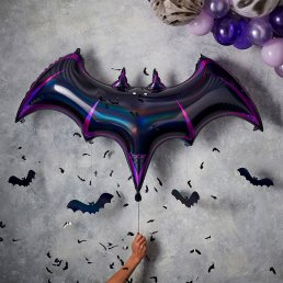 Folieballong - Fladdermus - Let's get Batty