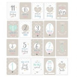 Milestone Cards - Baby Wishes