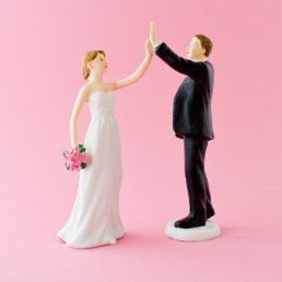 Cake Topper - High five
