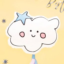 Folieballong - Happy cloud