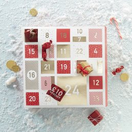 DIY Adventskalender - Red & Gold