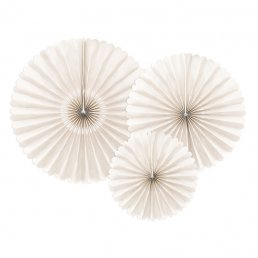 Pin wheels - 3-pack - Beige