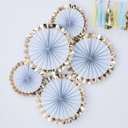 Pin Wheels - Pick & Mix Pastel - Baby Blue