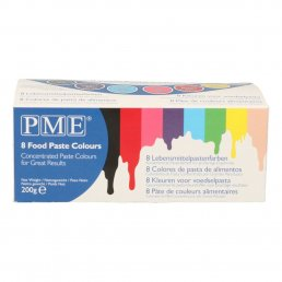 PME Icing color - 8-pack