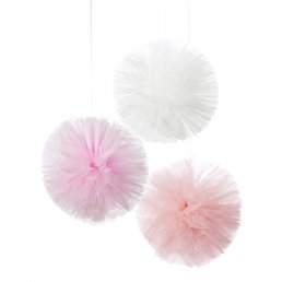 Pom Poms - Tyll - We Love Pink