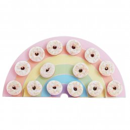 Donut Wall - Rainbow - Pastel Party
