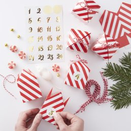 Adventskalender - Red & Gold