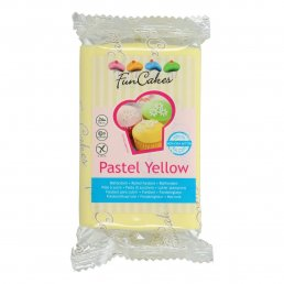 Sugarpaste - Pastel Yellow