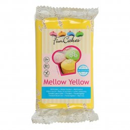 Sugarpaste - Mellow Yellow