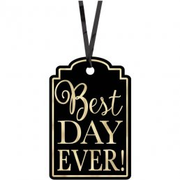 Tags - Best Day Ever - Svarta