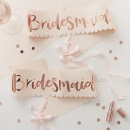 Sash - Bridesmaid - 2-pack