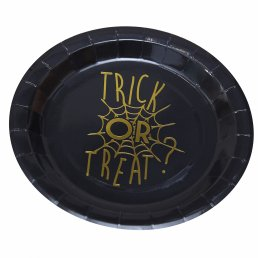 Papptallrikar - Trick or Treat