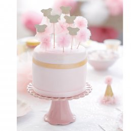 Cake Toppers - We Love Pink