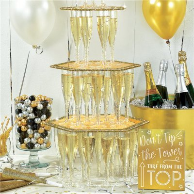 Champagne Tower Kit - Guld