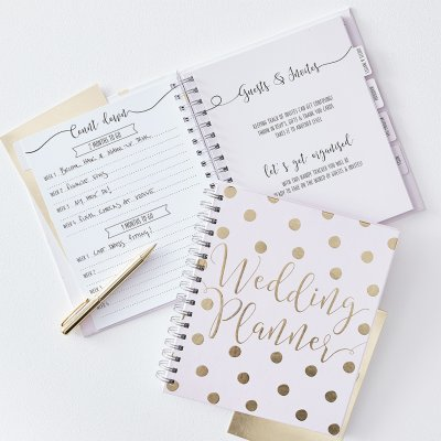 Wedding planner - Gold wedding