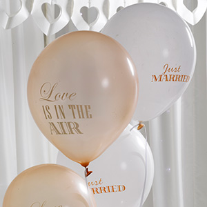 Ballonger - Love is in the air - Guld