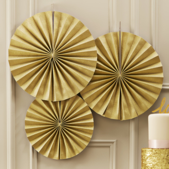 Pin Wheels - Guld - 3-pack