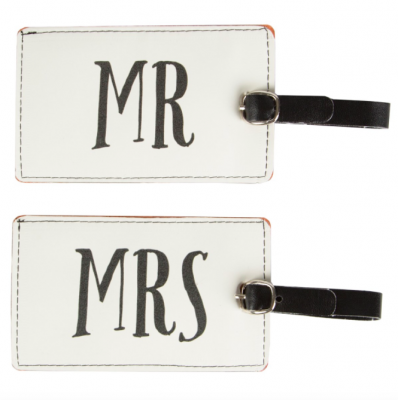 Luggage tags - Mr & Mrs